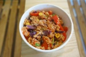 Quinoa Vegetarian Energy Pot Image source: ©Nourish Restaurants