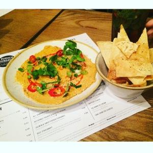The Spicy Sriracha Hummus