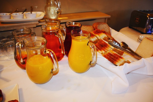 Breakfast Table - Ox Pasture Hall Hotel