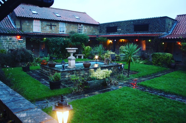 Courtyard - Ox Pasture Hall Hotel
