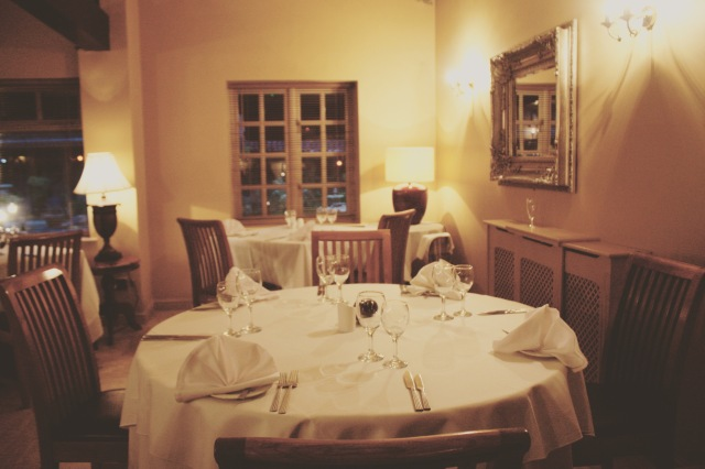 Dining Room - Ox Pasture Hall Hotel