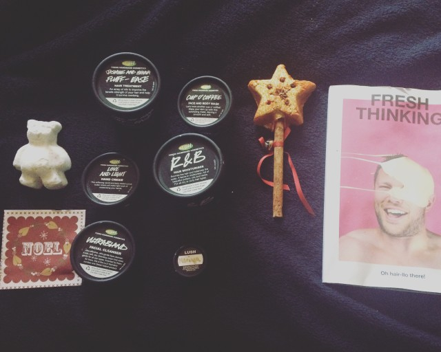 Products from Blogger Gift Bag - Lush Sheffield