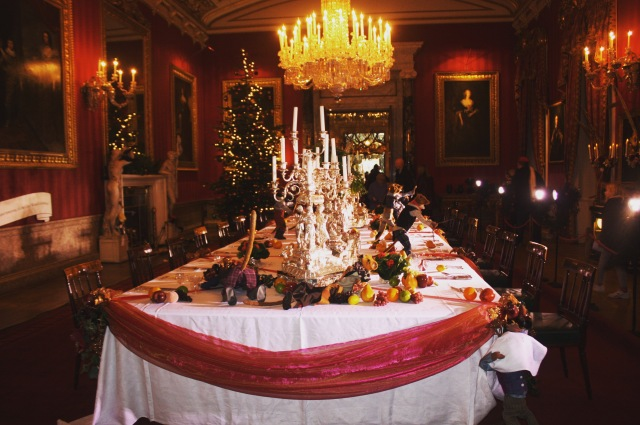 Chatsworth House at Christmas