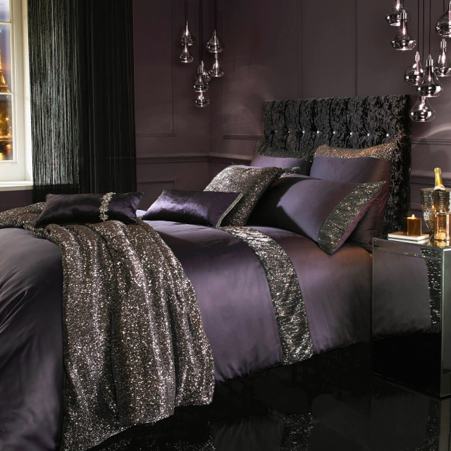 Kylie Minogue Astor Bedding Range Amethyst - Ponden Homes