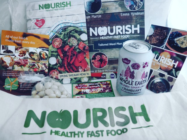 Blogger Goodie Bag Nourish Sheffield