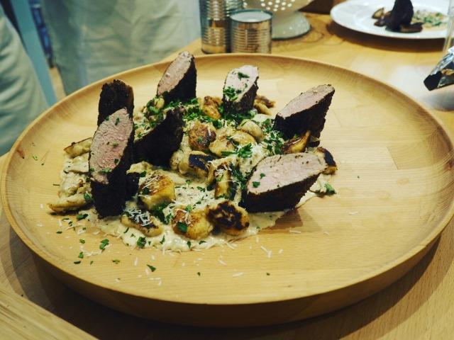 Pork-Fillet-Mushroom-Fricassee