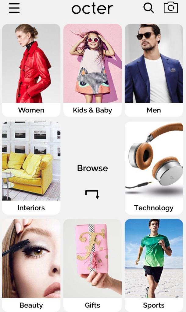 Octer-Mobile-Shopping-App
